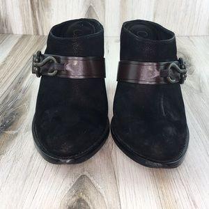 Cole Haan Black Mules